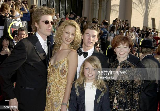 Kyle Eastwood Alison Eastwood Frances Fisher and family