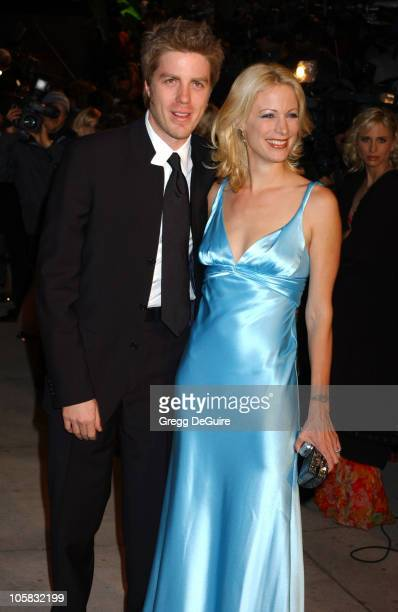 Kyle Eastwood and Alison Eastwood during 2005 Vanity Fair Oscar Party Arrivals at Mortons in Los Angeles California United States