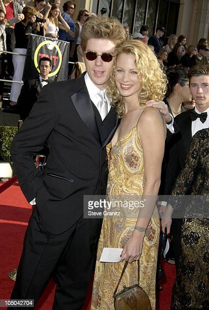 Kyle Eastwood and Alison Eastwood during 9th Annual Screen Actors Guild Awards Arrivals at Shrine Exposition Center in Los Angeles California United...