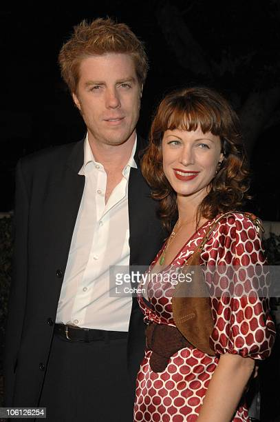 Kyle Eastwood and Alison Eastwood during Flags of Our Fathers Los Angeles Premiere Red Carpet in Hollywood California United States