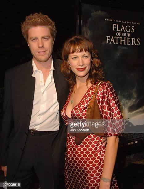"Kyle Eastwood and Alison Eastwood during ""Flags of Our Fathers"" Los Angeles Premiere - Arrivals at Academy of Motion Pictures Arts & Sciences in..."