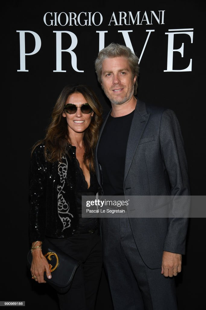 Giorgio Armani Prive : Front Row - Paris Fashion Week - Haute Couture Fall Winter 2018/2019 : News Photo