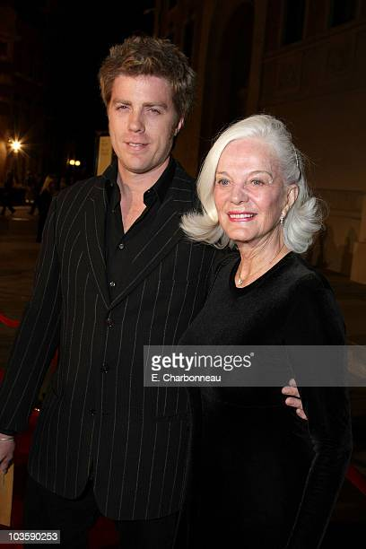 "Kyle Eastwood and Maggie Johnson at the Warner Bros. Premiere of ""Rails & Ties"" at the Steven J Ross Theater on October 23, 2007 in Burbank,..."