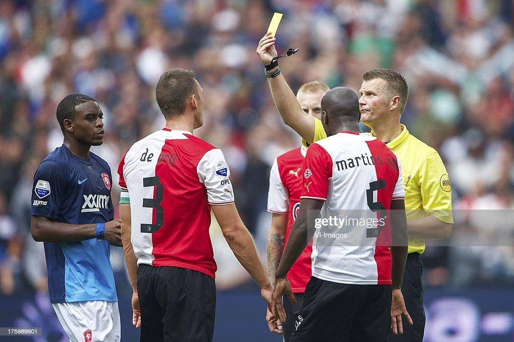 Dutch Eredivisie - Feyenoord v FC Twente : News Photo