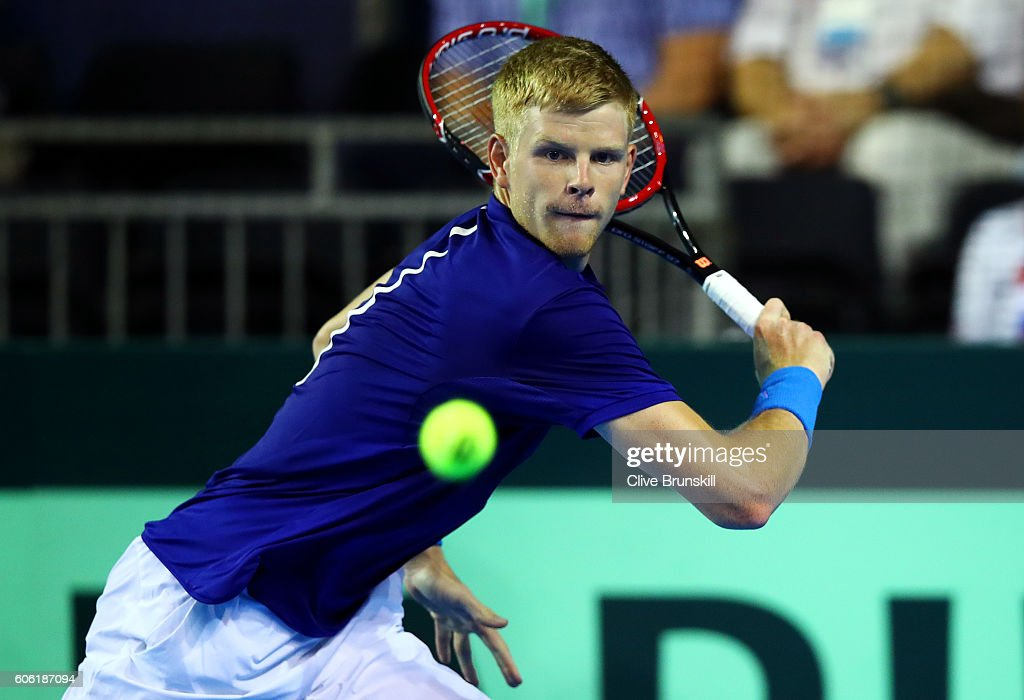 Great Britain v Argentina: Davis Cup Semi Final 2016 - Day One : News Photo