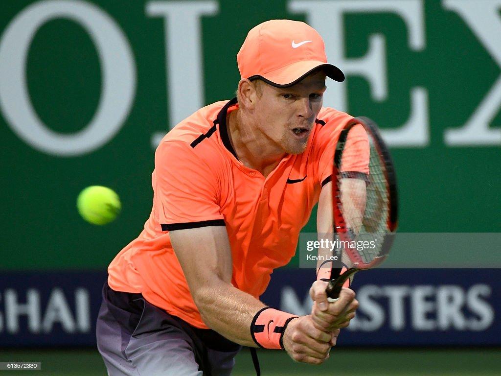 ATP Shanghai Rolex Masters 2016 - Day 1 : News Photo
