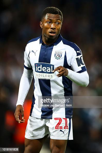 Kyle Edwards of West Bromwich Albion during the Carabao ...