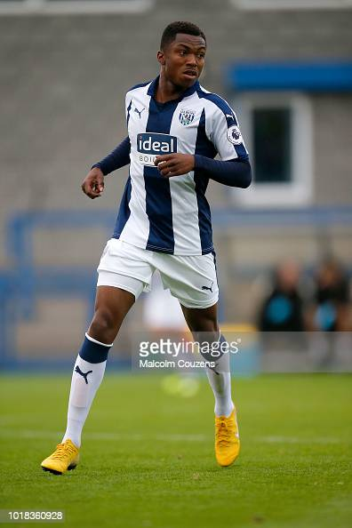 Kyle Edwards of West Bromwich Albion during the Premier ...