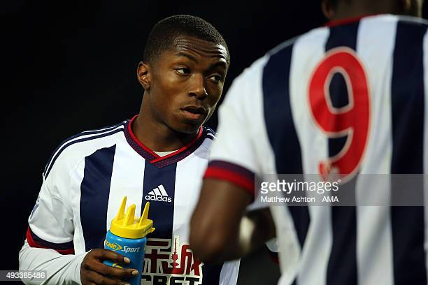 Kyle Edwards of West Bromwich Albion U21 during the Barclays U21 League match between West Bromwich Albion and Stoke City at The Hawthorns on October...