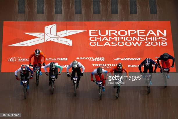 Kyle Evans of Great Britain Sylvain Andre of France Evgeny Komarov of Russia Simon M Marquart of Switzerland Theo Chapelle of France Romain Mayet of...