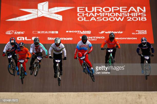 Kyle Evans of Great Britain Sylvain Andre of France Evgeny Komarov of Russia Simon M Marquart of Switzerland Romain Mayet of France Dave Van Der Burg...