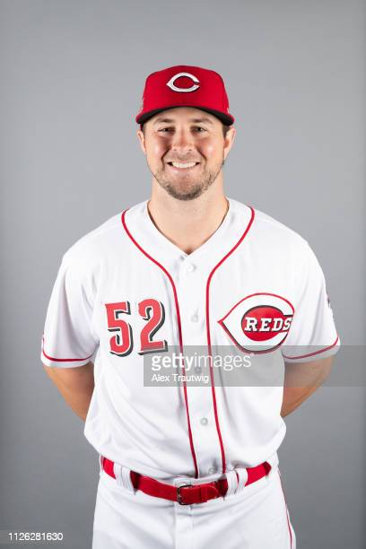 Kyle Farmer of the Cincinnati Reds poses during Photo Day on Tuesday February 19 2019 at Goodyear Ballpark in Goodyear Arizona