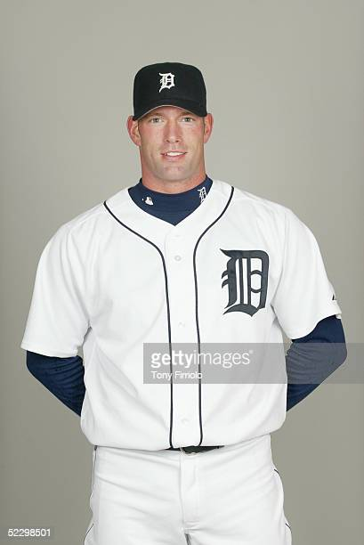 Kyle Farnsworth of the Detroit Tigers poses for a portrait during photo day at Marchant Stadium on February 27 2005 in Lakeland Florida