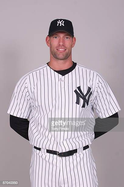 Kyle Farnsworth of the New York Yankees during photo day at Legends Field on February 24 2006 in Tampa Florida