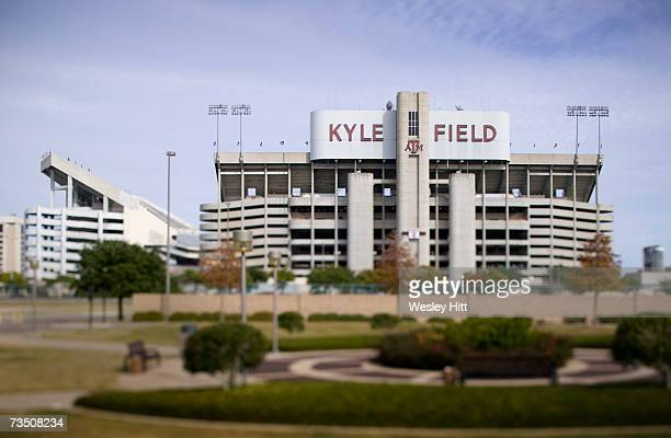 Kyle Field during a football game on the campus of theTexas AM University on November 24 2005 in College Station Texas