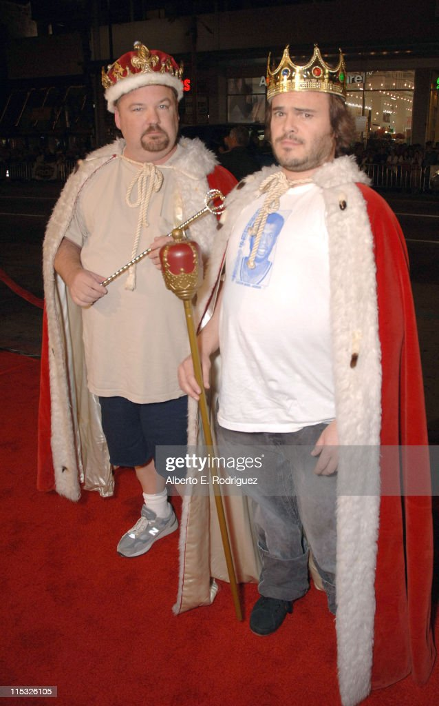 Kyle Gass and Jack Black during 'Tenacious
