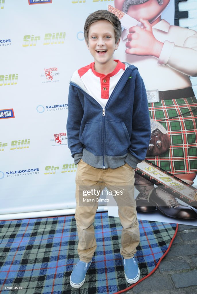 Kyle Gray attends the 'Sir Billi' press screening at The Grosvenor Cinema on September 5, 2013 in Glasgow, Scotland.