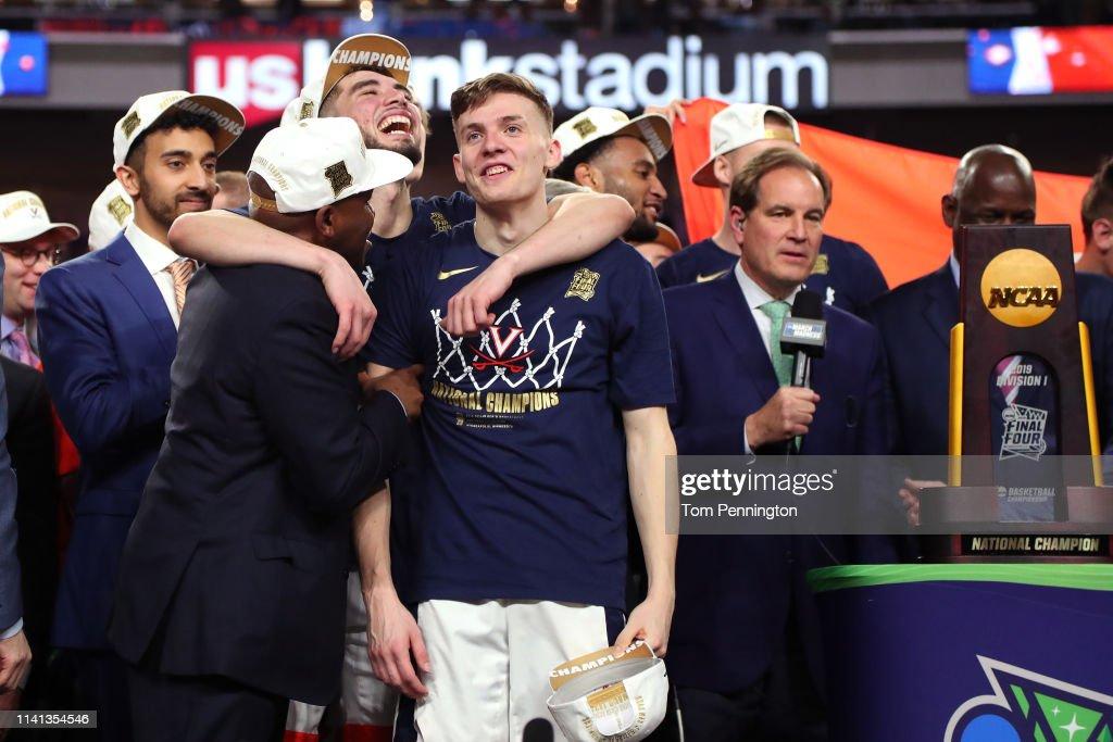 NCAA Men's Final Four - National Championship - Texas Tech v Virginia : News Photo