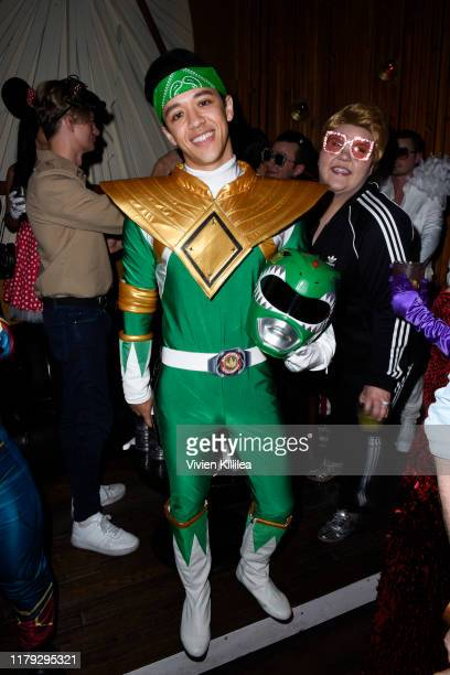 Kyle Hanagami attends Podwall Entertainment's 10th Annual Halloween Party presented by Maker's Mark on October 31 2019 in West Hollywood California