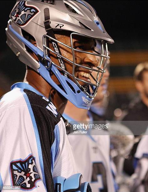 Kyle Harrison of the Ohio Machine plays against the Rochester Rattlers at Sahlen's Stadium on August 2 2014 in Rochester New York