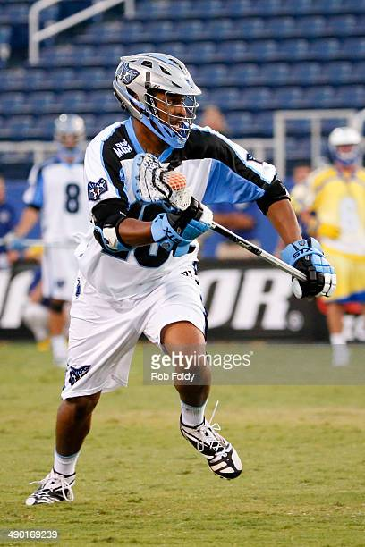 Kyle Harrison of the Ohio Machine plays during the first half of the game against the Florida Launch at Florida Atlantic University Stadium on May 10...