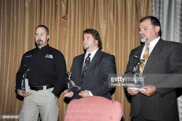 Kyle Held Jeffrey Heath and Terry Mills attend The 2009 ASPCA Humane Awards Luncheon at The Pierre on October 29 2009 in New York City