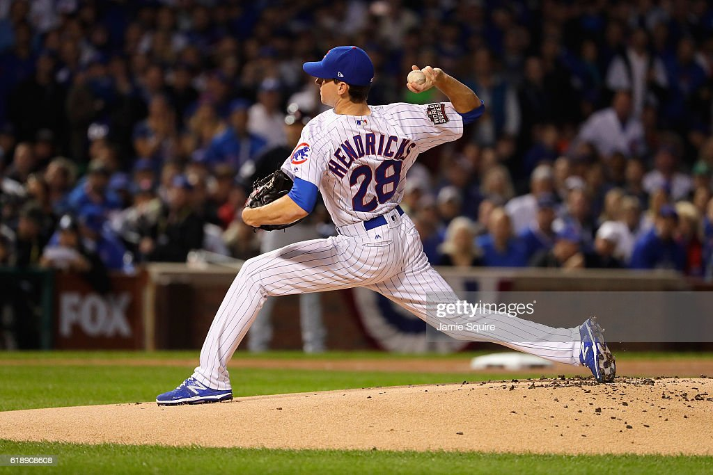 World Series - Cleveland Indians v Chicago Cubs - Game Three : News Photo