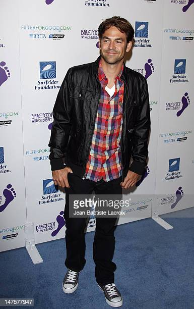 Kyle Howard arrives at The Surfrider Foundation's 25th Anniversary Gala at the California Science Center's Wallis Annenberg Building on October 9...