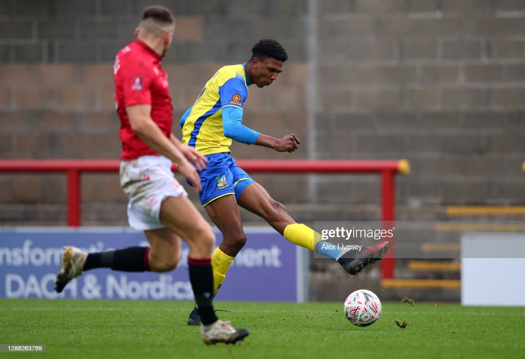 Morecambe v Solihull Moors - FA Cup Second Round : News Photo