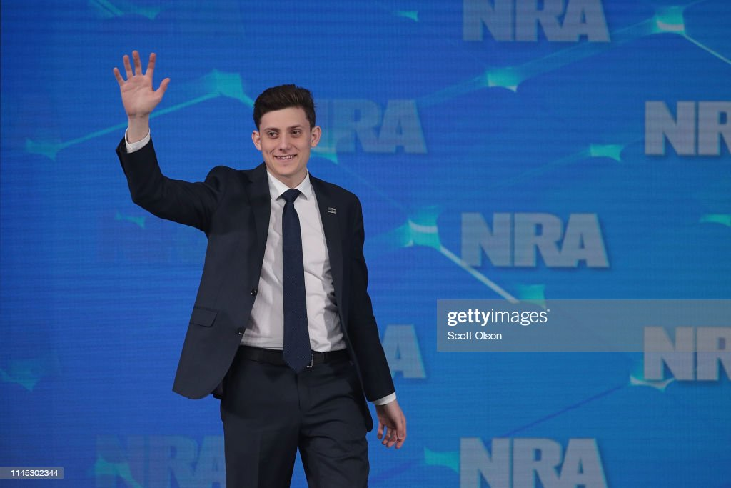 President Trump And Other Notable Leaders Address Annual NRA Meeting : News Photo