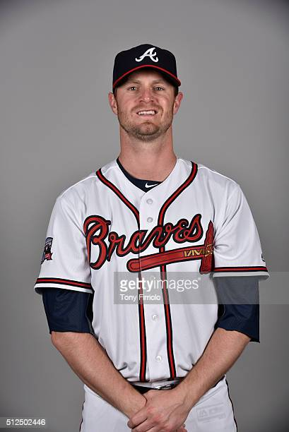 Kyle Kendrick of the Atlanta Braves poses during Photo Day on Friday February 26 2016 at Champion Stadium in Lake Buena Vista Florida