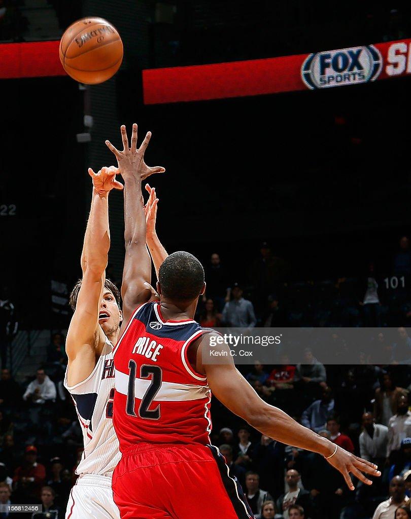 Washington Wizards v Atlanta Hawks : News Photo