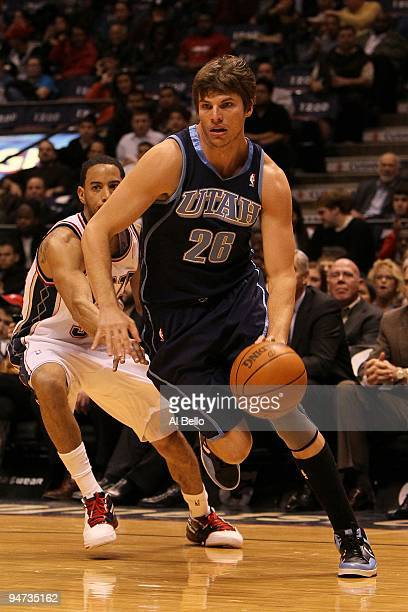 83ac289e9 Kyle Korver of The Utah Jazz in action against the New Jersey Nets during  their game