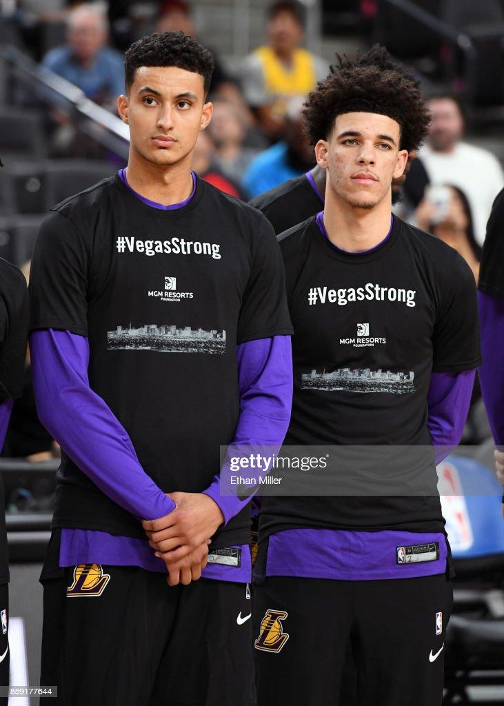 Sacramento Kings v Los Angeles Lakers : Foto jornalística