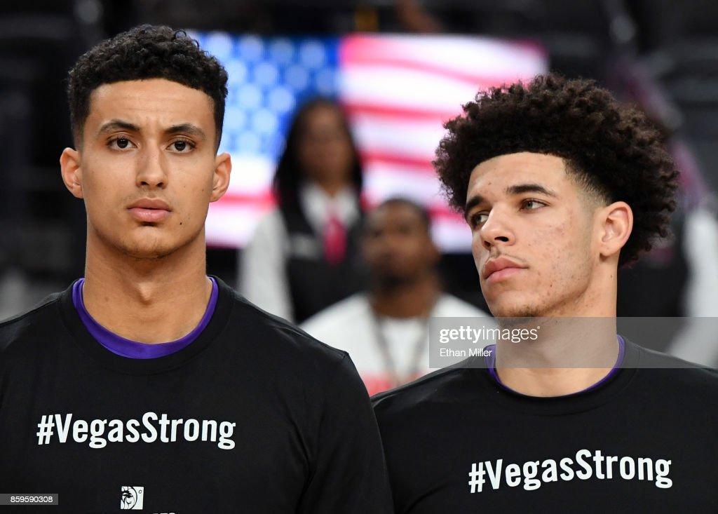 Sacramento Kings v Los Angeles Lakers : News Photo