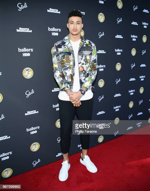 Kyle Kuzma attends SI Fashionable 50 Event on July 12 2018 in Los Angeles California