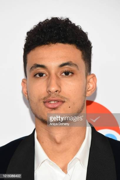 Kyle Kuzma attends the 18th Annual Harold and Carole Pump Foundation Gala at The Beverly Hilton Hotel on August 10 2018 in Beverly Hills California