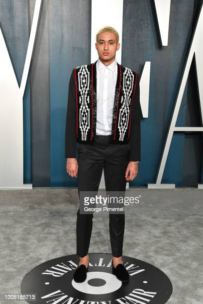 Kyle Kuzma attends the 2020 Vanity Fair Oscar party hosted by Radhika Jones at Wallis Annenberg Center for the Performing Arts on February 09, 2020...