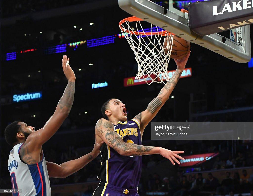 Detroit Pistons v Los Angeles Lakers : News Photo