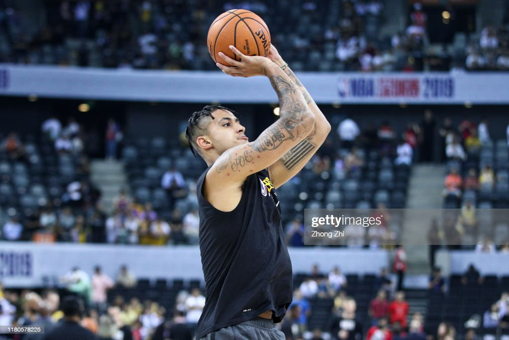 Los Angeles Lakers v Brooklyn Nets - NBA China Games 2019 : Foto di attualità