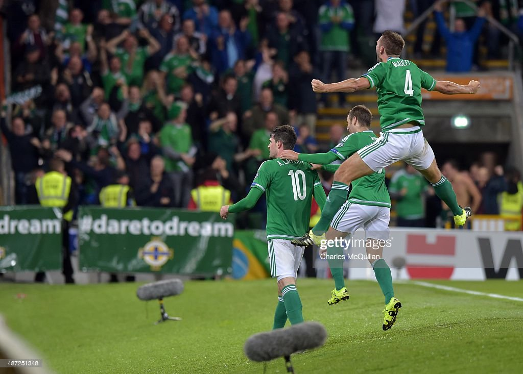 Northern Ireland v Hungary - EURO 2016 Qualifier : News Photo