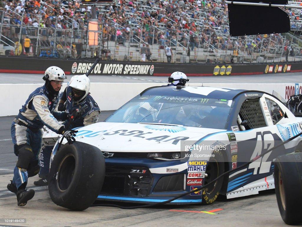 AUTO AUG 18 Monster Energy NASCAR Cup Series