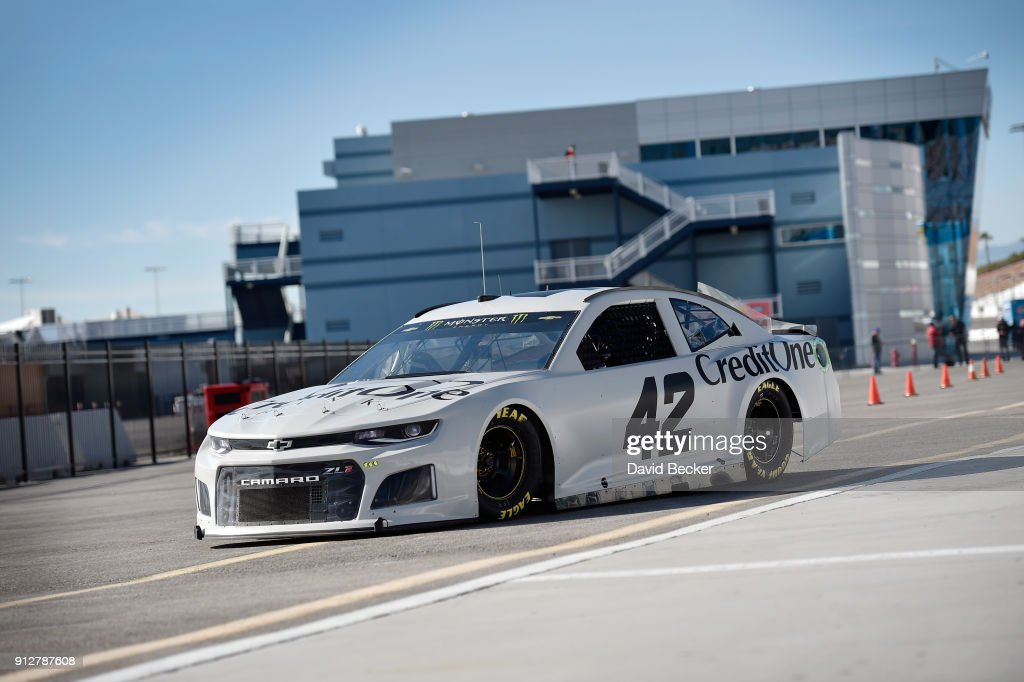 Monster Energy NASCAR Cup Series Testing - Las Vegas : News Photo
