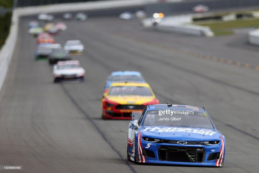 NASCAR Cup Series Pocono Organics CBD 325 : News Photo