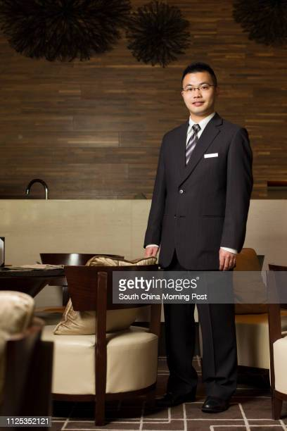 Kyle Lo Personal Manager of Hyatt Regency Hong Kong in Shatin 04JUN12
