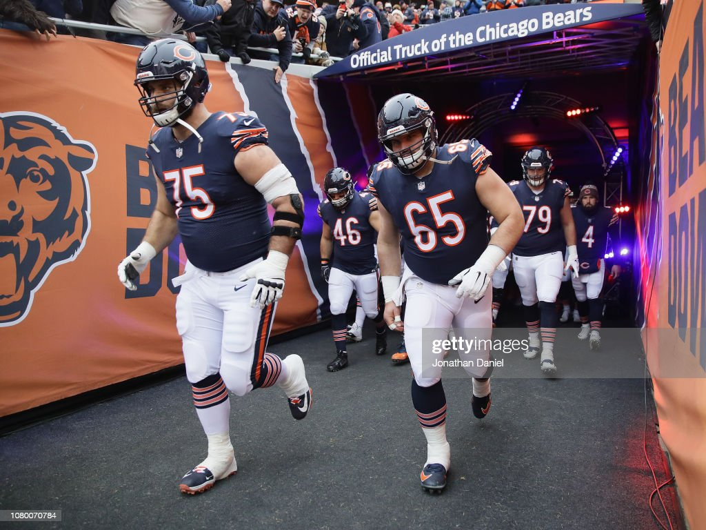 Wild Card Round - Philadelphia Eagles v Chicago Bears : News Photo