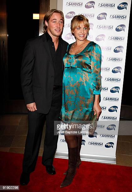 Kyle Lowder and Arianne Zucker attend the 2009 Voice Awards at Paramount Theater on the Paramount Studios lot on October 14 2009 in Los Angeles...