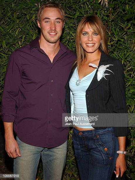 Kyle Lowder and Arianne Zuker during SOAPnet Fall 2004 Launch Party at Falcon in Hollywood California United States