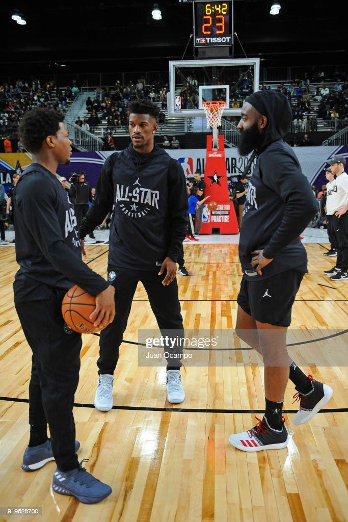 67afacbfcd4 2018 NBA All-Star - Media Day   Practice   News Photo