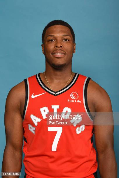 Kyle Lowry of the Toronto Raptors poses for a head shot during media day on September 28 2019 at Scotiabank Arena in Toronto Ontario Canada NOTE TO...